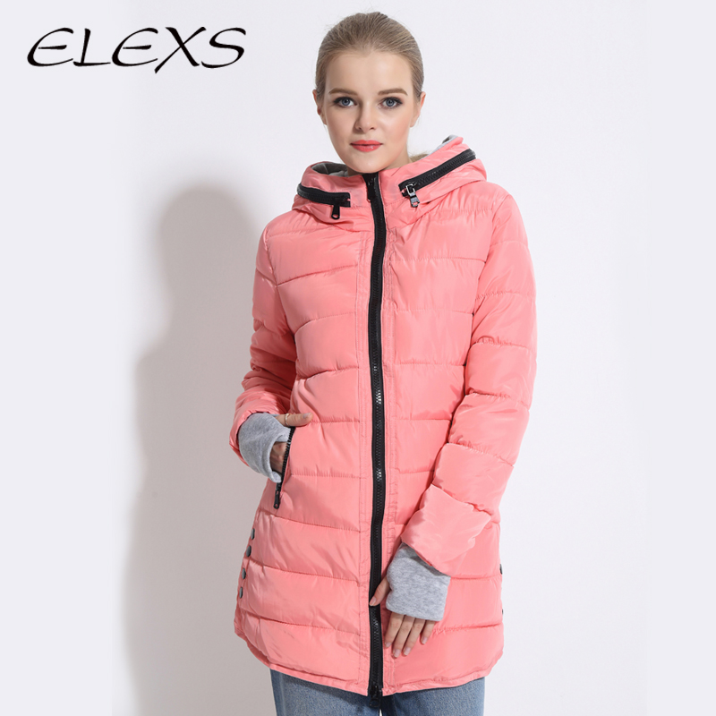 Aliexpress.com : Buy Elexs Wadded Jacket Female Women ...
