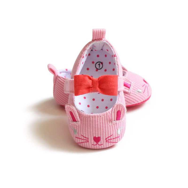 Cute Cat Spring Autumn Infants Baby Shoes Newborn First Walkers Toddler Boy Girls Kids Soft Sole Shoes M2