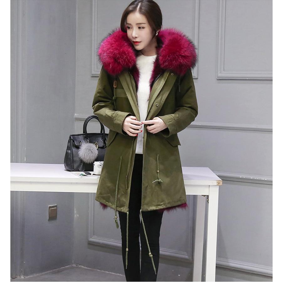 """""""HIgh"""" šaltos žieminės aprangos 2016 m. Naujos natūralios - Moteriški drabužiai - Nuotrauka 2"""