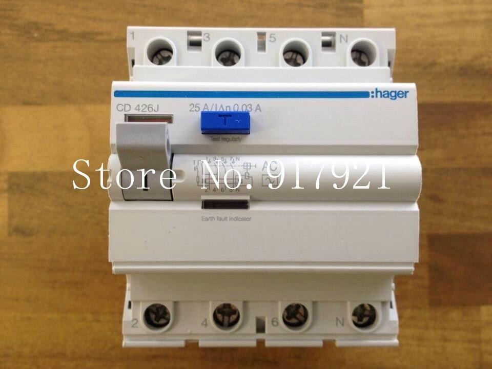[ZOB] Hagrid CD426J 4P25A circuit breaker 0.03A RCCB