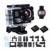 4 k Wifi Ultra HD Dual Screen Câmera Subaquática À Prova D' Água Esportes de Ação com Controle Remoto, Time Lapse & Wide ângulo DVR Camcorder