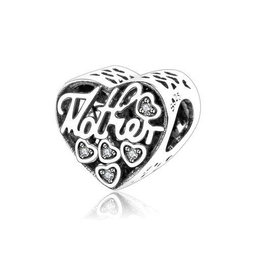 Подходит для оригинальных браслетов Pandora DIY Ювелирные изделия Осенняя коллекция ромашки ажурные шармы 925 пробы серебряные бусины в виде цветка - Цвет: A6