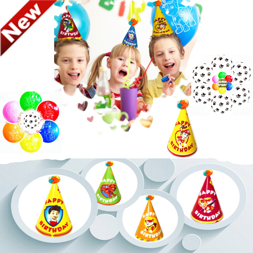 Décoration Ballon Anniversaire Us 12 96 Pat Patrouille Ballon Anniversaire Patrol Puppy Balloons Set Birthday Party Decoration Patrulla Canina Globos Ju8 In Toy Balls From Toys