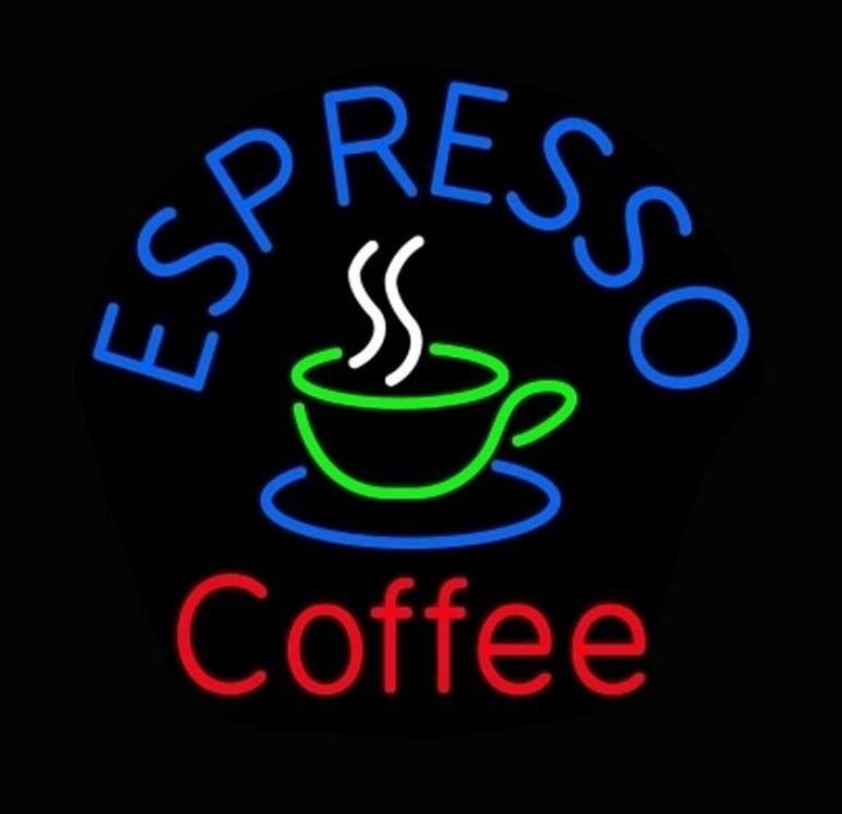 Custom Coffee Cafe Espresso Glass Neon Light Sign Beer Bar|Neon Bulbs & Tubes| |  - title=