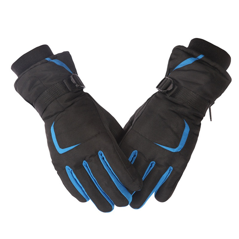 Windproof Wear-resistant Riding Touch Screen Ski Gloves Mountain Skiing Snowmobile Waterproof Snow Motorcycle Gloves New