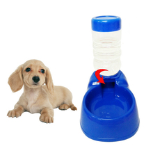 500ml Pet Automatic Feeder capacity pet Drinking Fountain Stand Bottle For Cats Dogs Food Bowl Dispenser Product