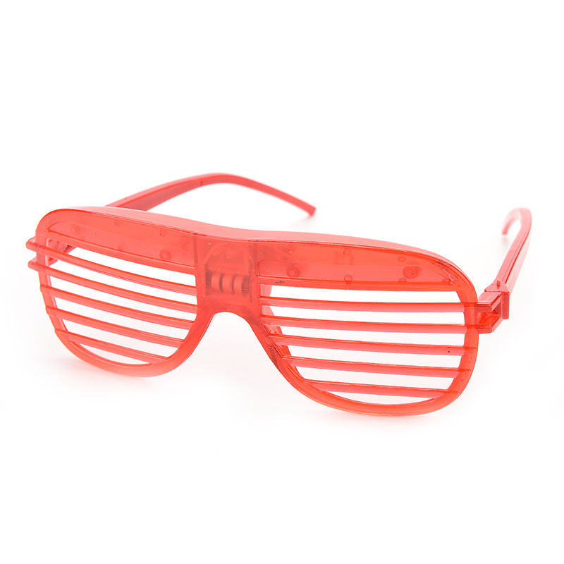 Flashing party led light glasses for party birthday party funny tricky fluorescent luminous rave