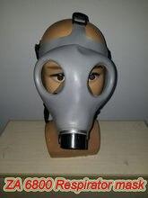 ZA 6800 respirateur masque à gaz de haute qualité sans odeur charmant masque complet pour plusieurs gaz toxiques masque à gaz de pulvérisation