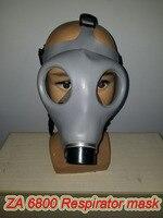 ZA 6800 solunum gaz maskesi yüksek kaliteli kokusuz büyüleyici tam maske çoklu zehirli gazlar sprey gaz maskesi