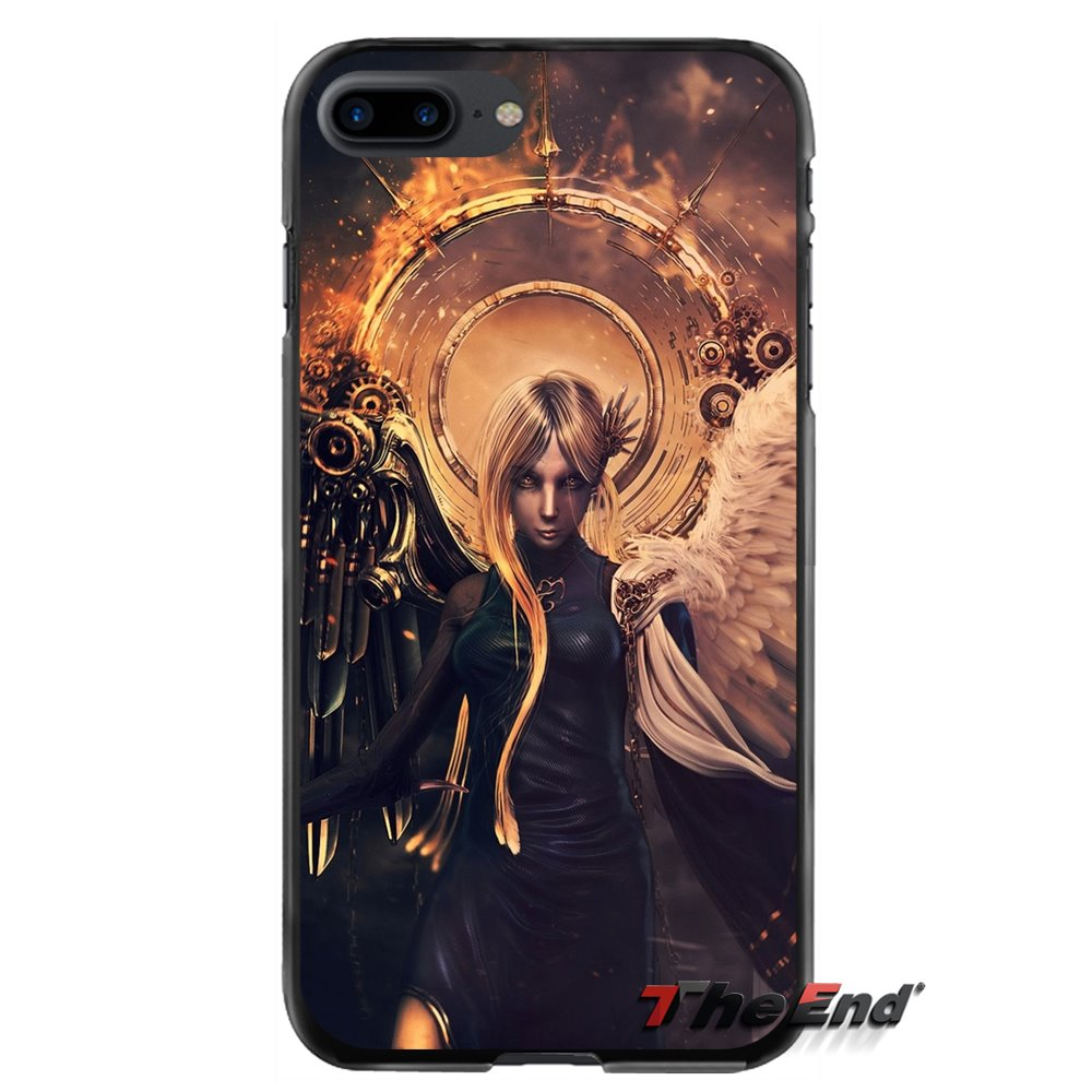 For Huawei P7 P8 P9 P10 Lite Plus 2017 2016 Honor 5C 6 4X 5X Mate 8 7 9 Angels Vs. Demons Accessories Phone Shell Covers