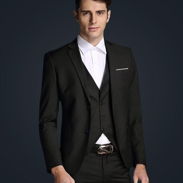 Top Marque Classique Élégant Gentleman casual Hommes costume 968f3bd0170
