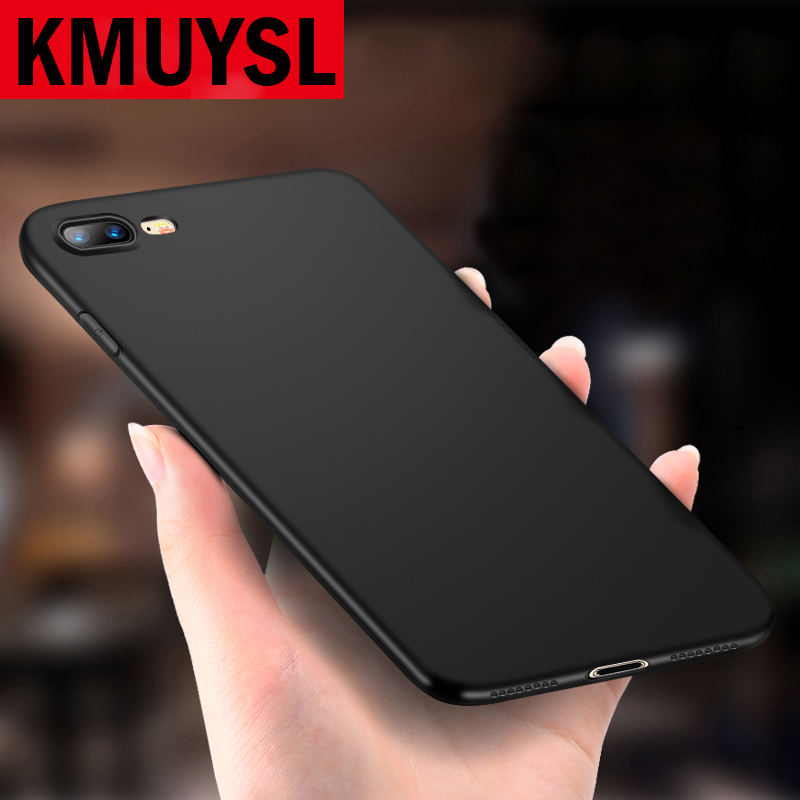 For iPhone X Case Matte Soft Silicon TPU Case for iPhone 5 5S 6 6S 7 8 Plus Full Cover For iPhone 7 Plus 6 Plus Phone bag backs