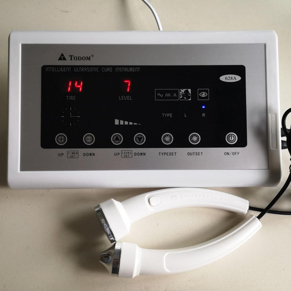 Appareil ultrasonique de soin de beauté masseur Facial Machine d'ultrason de visage Anti-vieillissement Anti-rides nettoyant de peau serrant 628A