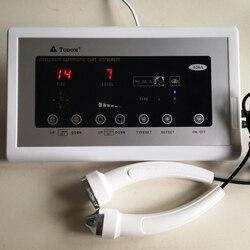 Dispositivo ad ultrasuoni Massager Facciale di Cura di Bellezza Viso Macchina Ad Ultrasuoni Anti aging Anti rughe Detergente per La Pelle di Serraggio 628A