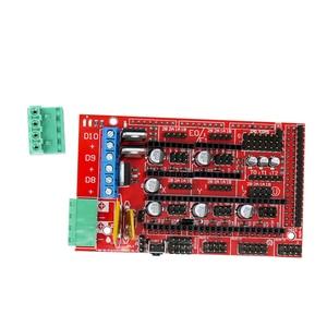 Image 3 - CNC 3D Drucker Kit für Arduino Mega 2560 R3 + RAMPEN 1,4 + LCD 2004 + A4988 Stepper Fahrer Motherboard 3d drucker arduino kit