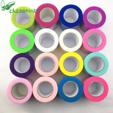 CHASANWAN Tulle Roll 25 Yards 5cm Spool Tutu Wedding Decoration Baby Shower Organza Laser DIY Crafts Birthday Party Supplies.b