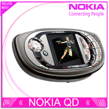Оригинальный разблокирована Nokia N-gage QD Игры мобильный телефон bluetooth многоязычный Восстановленное бесплатная доставка
