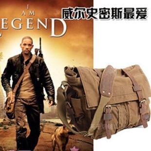 Hot Military Men Messenger Bag Laptop Shoulder Travel Canvas Free Shipping