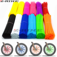 72 PCS Motocross Dirt Bike Enduro Wheel RIM SPOKE Shrouds SKINS COVERS for KTM 350 SX-F EXC 450 500 XC-W 520 525 MXC