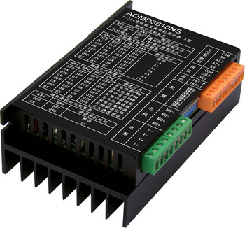 12/24/36V 10A DC motor driver 0-10V/RS485 controls positive and negative current PID