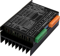 12/24/36V 10A DC motor driver 0 10V/RS485 controls positive and negative current PID