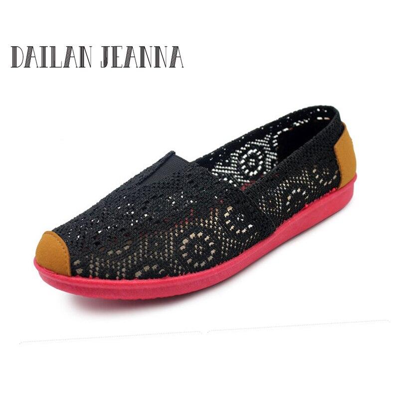 Las 2017 Playa red beige Ocasionales Zapatos Ligera On Red Mujeres Black dark Verano Flats mei blue Nuevas Zapatillas Slip Blue dqrvBqwxS