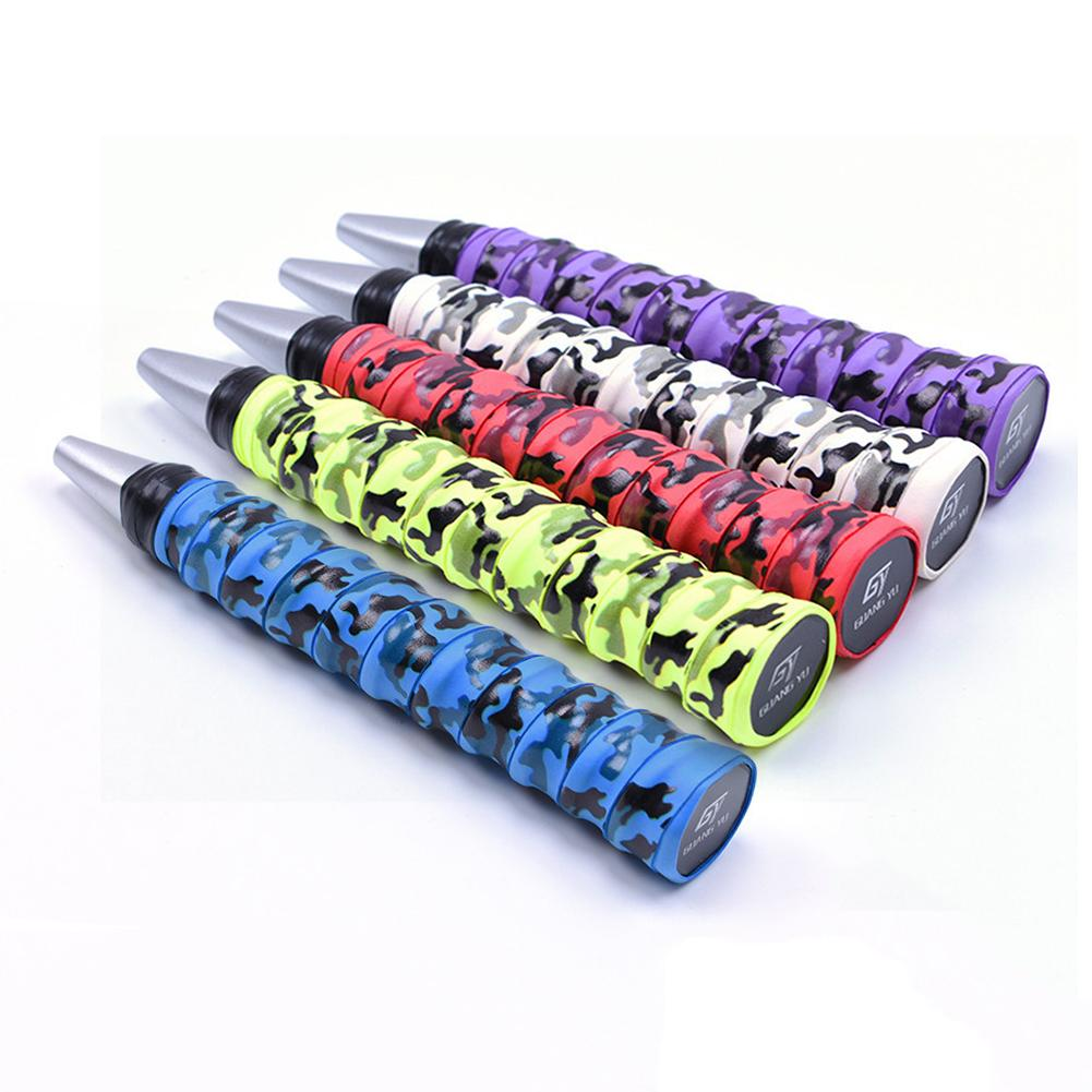 1pc Outdoor Sports Tennis Grip Badminton Racquet Grip Anti-Skid Sweat Absorbent Tape Fis ...