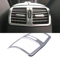 Car Interior Chrome Armrest Box Rear Air Condition Vent Cover Trim Air Outlet For Mercedes Benz
