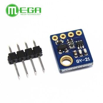 Czujnik wilgotności z I2C interfejs iic przemysłowy precyzyjny GY-21 moduł czujnika temperatury niska moc CMOS 3-5V