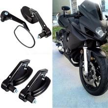 """Espejos retrovisores de motocicleta universales de 7/8 """"y 22mm con manillar para motocross ATV todoterreno pit bike espejo retrovisor para moto"""