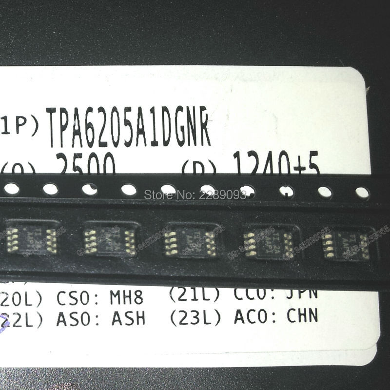 Цена TPA6205A1DGNR