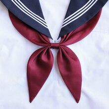 Золотая рыбка, шарф для японских школьниц, Женский галстук-бабочка JK, униформа для студентов, галстук для костюмированной вечеринки, 14 цветов