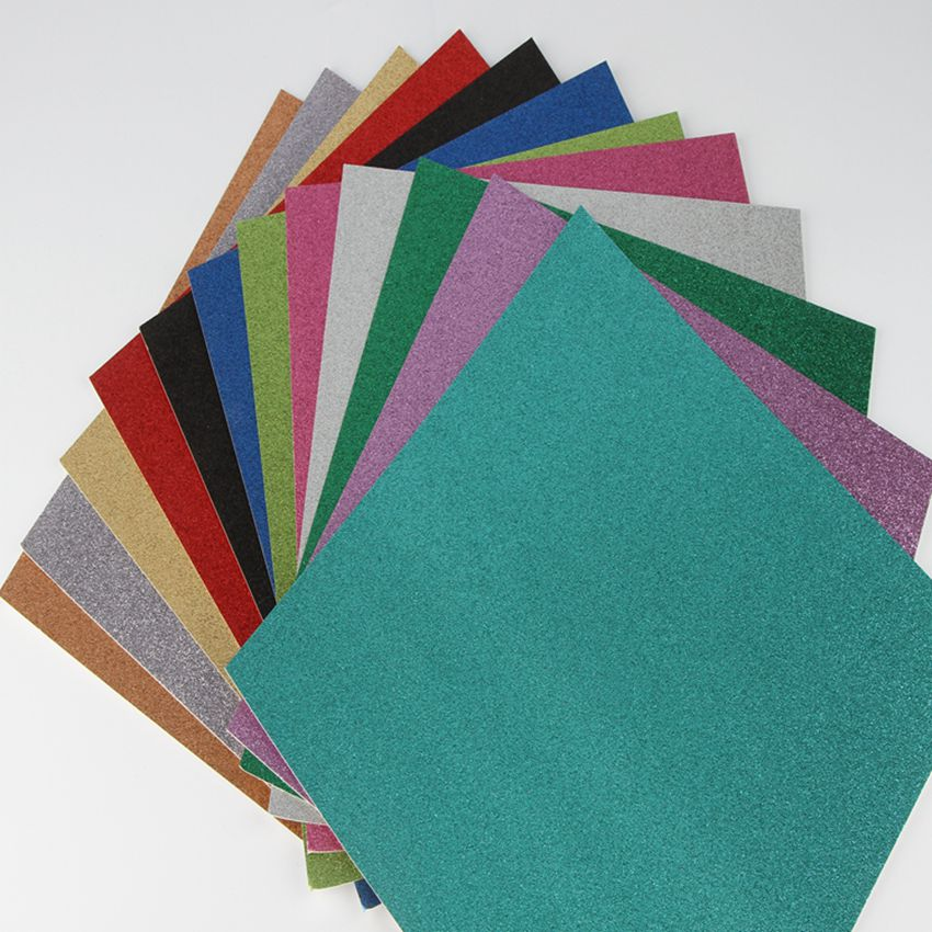 "12/"" x 12/"" Lot 50 Scrapbooking Cardboard Craft Sheets"