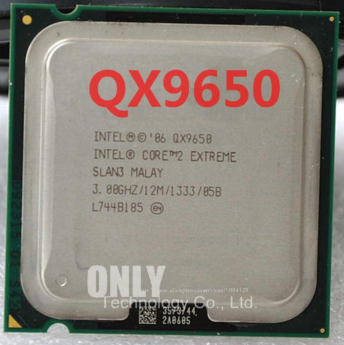 FREE SHIPPING Intel Core 2 Extreme QX9650 Processor SLAN3 SLAWN 3.0GHz 12MB L2 1333MHz FSB LGA775 Quad Core CPU