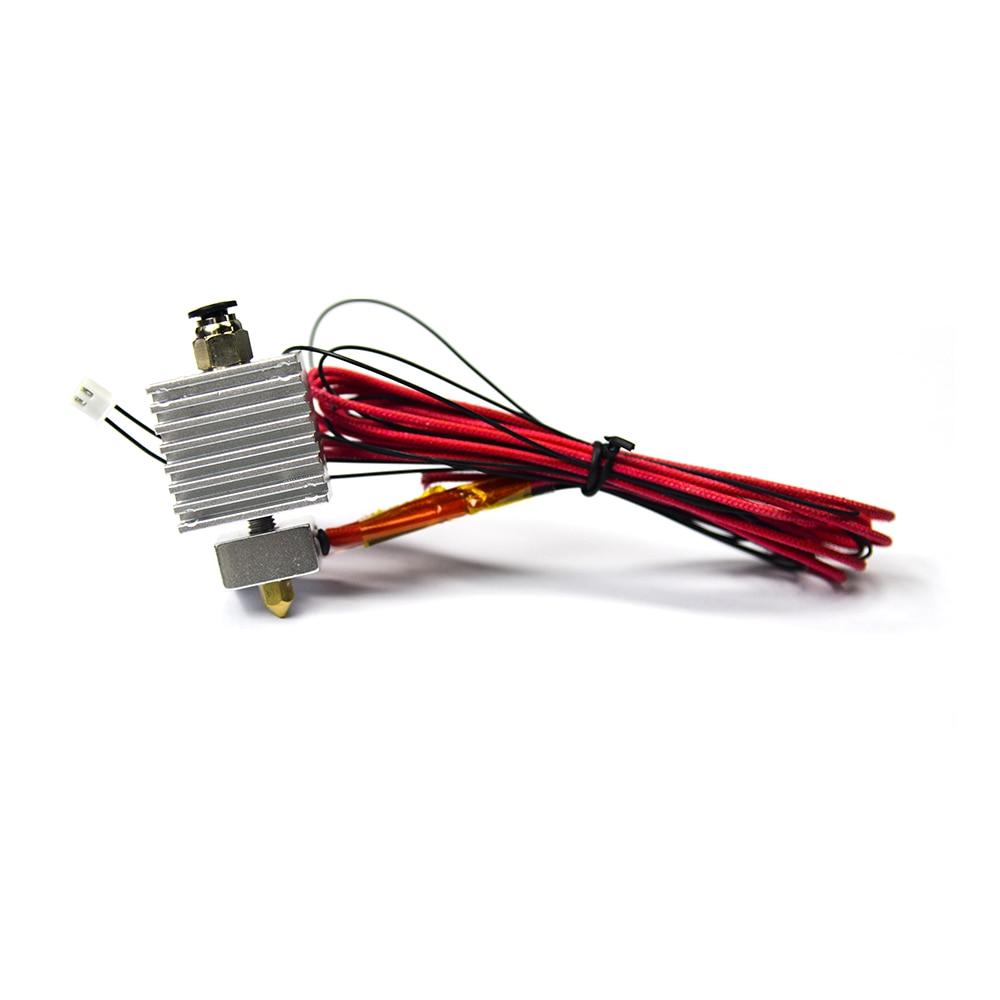 3D Printer Accessory TEVO Tarantula extruder E3D Hotend 1.75MM with MK8 0.4mm Nozzle with 12V heater cartridge NTC Thermistor