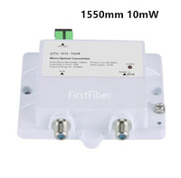 FTTH Micro Optical Transmitter model 10mW Catv Single mode fiber optic 47 1000MHz 1550mm with SC/APC
