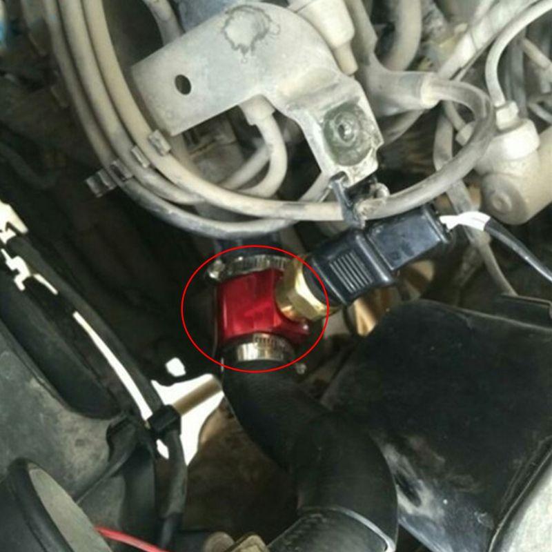 Sensor de temperatura de agua para coche 26 mm-40 mm adaptador de manguera de radiador 30