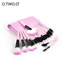 O.TWO.O Brushes Premiuim Makeup Brush Set Professional Artist Brush Kit Powder Foundation Blush Eyeshadow Lip Brush 32 Pcs