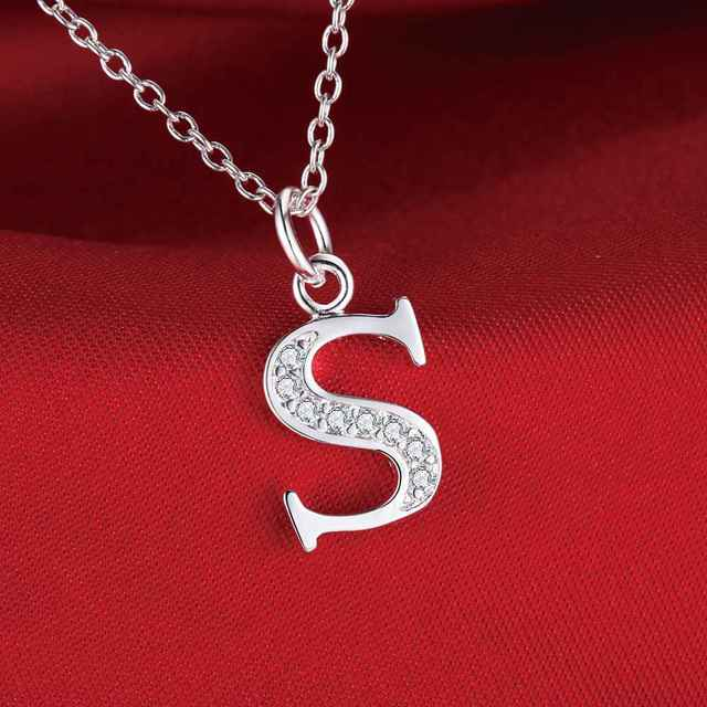 Fashion letter s silver plated necklace new sale silver necklaces fashion letter s silver plated necklace new sale silver necklaces pendants fhmgaioi aohcktaf mozeypictures Gallery