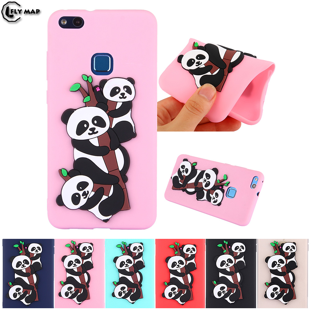 Panda Case for Huawei P10 Lite WAS-LX1 P10Lite TPU Soft Silicone protective phone Cover  ...