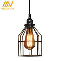 Loft Retro Industrial Wind American Creative Personality Industrial Country Retro Retro Iron Industrial Wind Chandelier Dining