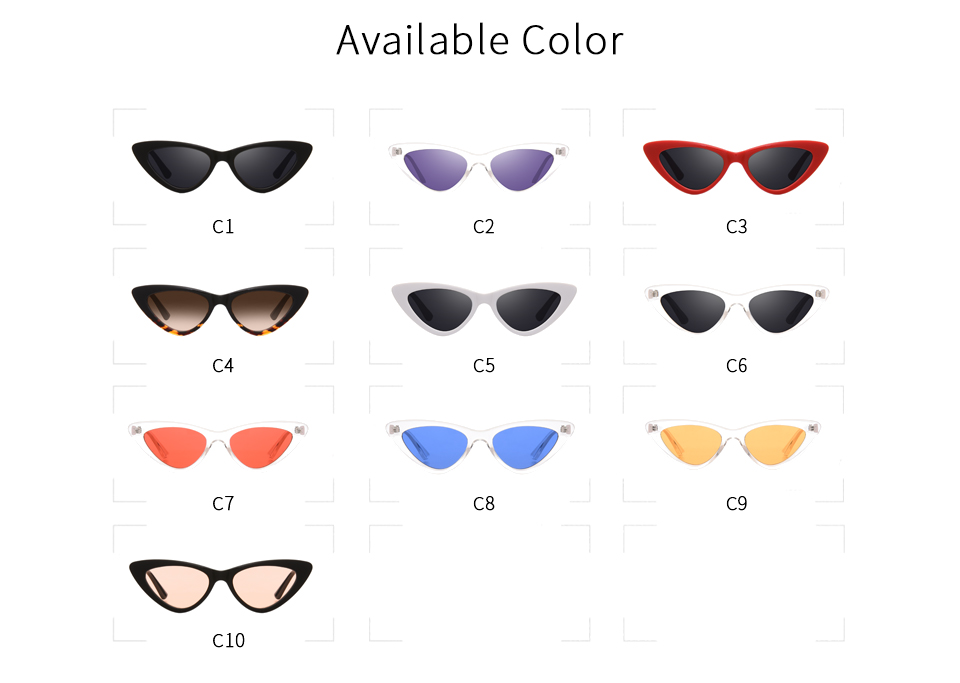 HTB1ezRVlLBNTKJjy1zdq6yScpXaT - Winla Fashion Design Cat Eye Sunglasses Women Sun Glasses Mirror Gradient Lens Retro Gafas Eyewear Oculos de sol UV400 WL1127