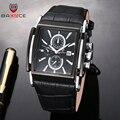 BADACE 2019 модные мужские часы с кожаным ремешком кварцевые мужские роскошные часы спортивные наручные часы Relogio Masculino 2098