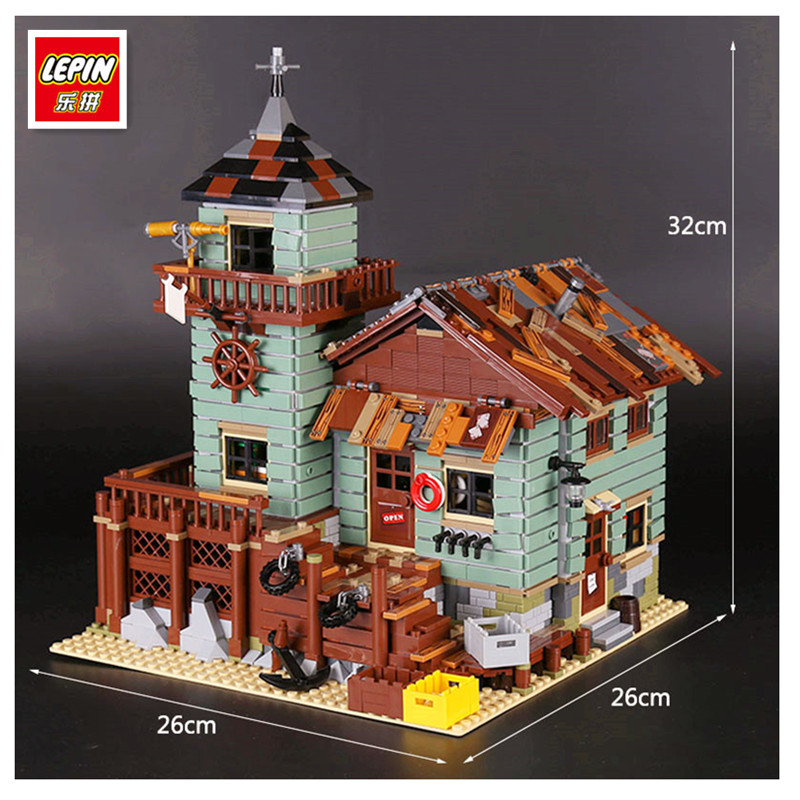 Lepin 16050 2109Pcs MOC Series The Old Finishing Store Set Children Educational Building Blocks Bricks Toys Model Clone 21310 lepin 16050 the old finishing store set moc series 21310 building blocks bricks educational children diy toys christmas gift