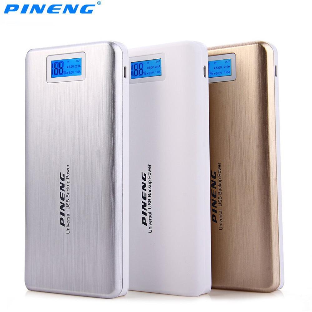 original pineng pn 999 20000mah capacity power bank ultrathin portable external battery bateria. Black Bedroom Furniture Sets. Home Design Ideas