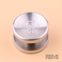 2017 FEGVE Top Quality Fidget Spinner Buttons UFO Titanium Hand Spinner Buttons For Autism ADHD Anxiety