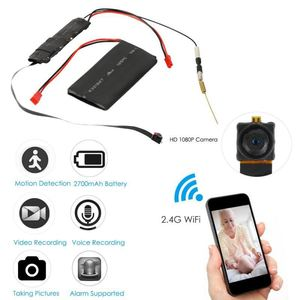 Image 1 - DIY Camera Mini Wifi Camera Full HD 1080P Camcorder P2P Motion Detection Video Security with 2.4G RF Remote Control DIY Camera