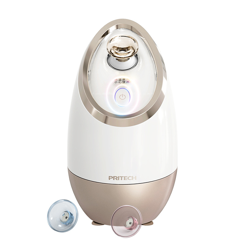 Facial Moisturizing Beauty Equipment Humidification Ozone Sterilization Hot and Cold Spray Double Sprayer Facial SteamersFacial Moisturizing Beauty Equipment Humidification Ozone Sterilization Hot and Cold Spray Double Sprayer Facial Steamers