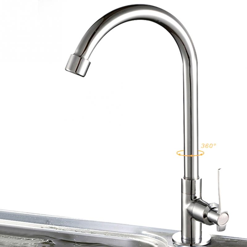 Kinds Of Kitchen Faucets: 6 Types Deck Mounted Wall Mounted Cold Water Universal