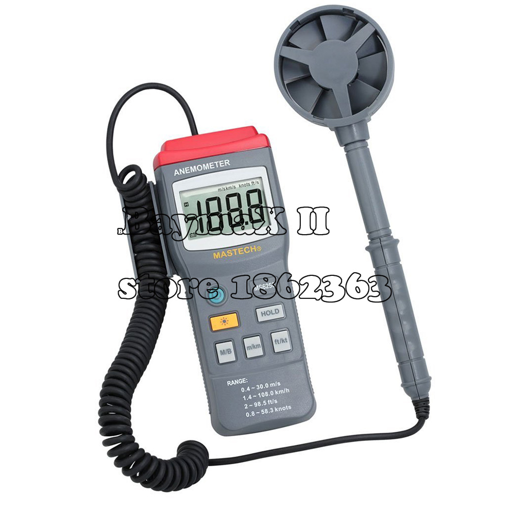MASTECH MS6250 Digital Anemometer Wind Speed Air Velocity Tester карта памяти sdhc sandisk extreme sdhc uhs class 3 32gb